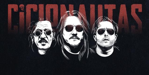 El trío de rock Ciclonautas