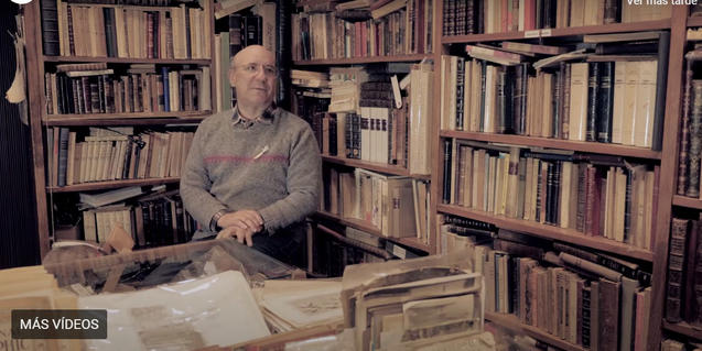 Entrevista al responsable d'una llibreria històrica del carrer Banys Nous