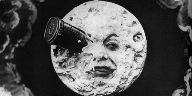 Fotograma de la pel·lícula «Le Voyage dans la Lune» de George Mèliés