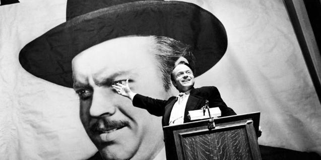 Icònica imatge de 'Ciudadano Kane'. El film de Welles es projectarà als Verdi l'1 d'agost