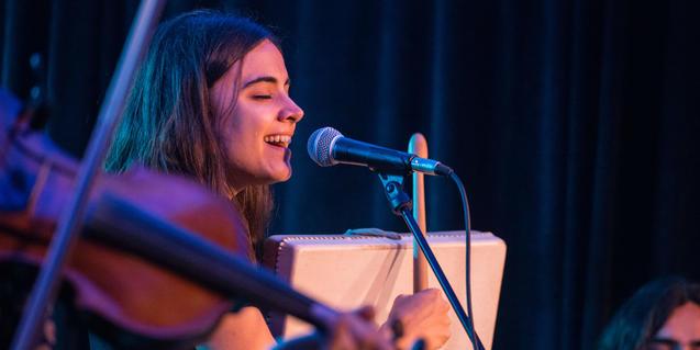Clara Fiol en el concierto del Festival Talent 2019