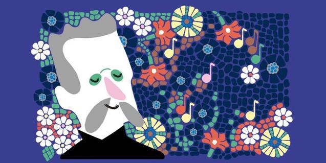 Ilustración de Domènech y Montaner