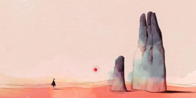 Presentació de 'Gris', el videojoc de Conrad Roset