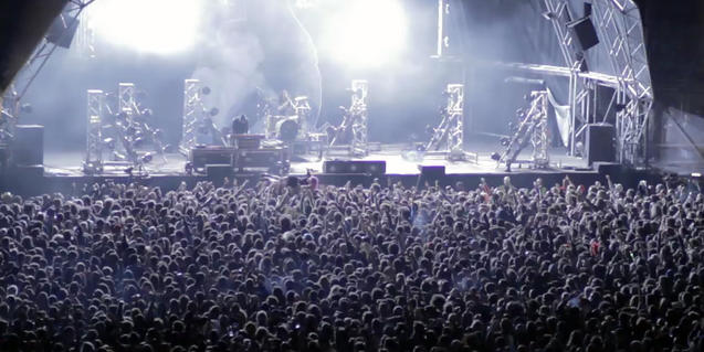Imatge d'un concert en directe