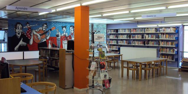 Área infantil de la Biblioteca Ramon d'Alòs-Moner