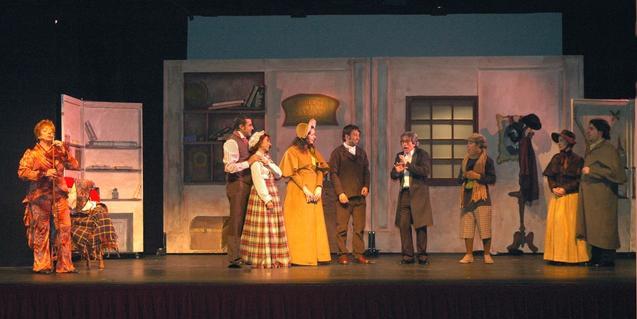 Escena de la obra de teatro