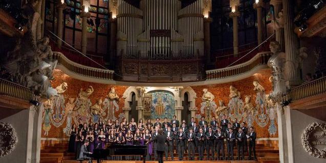 Las formaciones corales serán las protagonistas el domingo 4 de marzo en el Palau de la Música