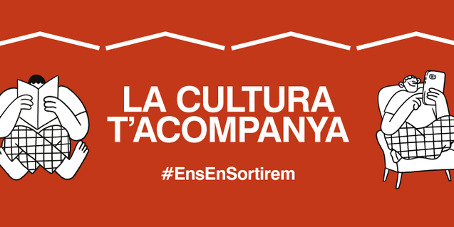 #LaCulturaTAcompanya [CultureKeepsYouCompany] campaign.