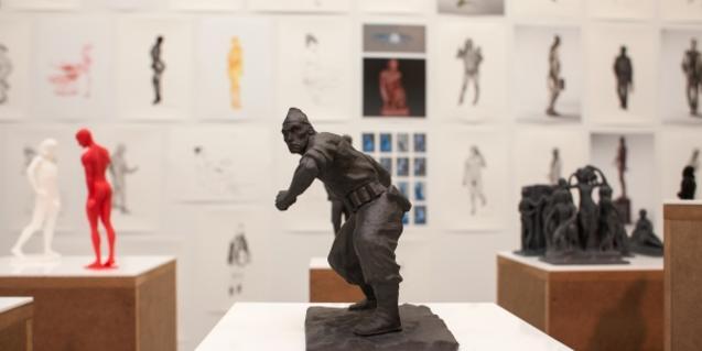 Algunes peces de l'exposició de Daniel G. Andújar