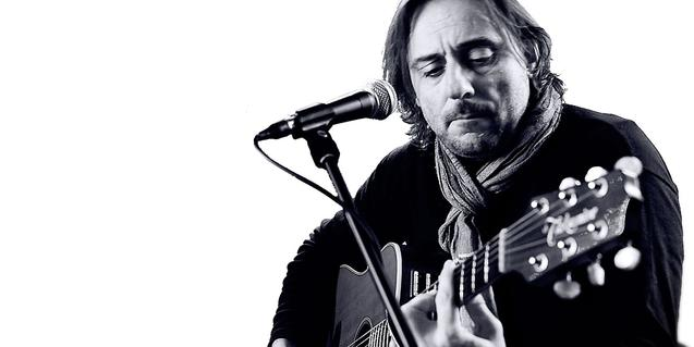 El cantant i guitarrista Daniel Cerdà