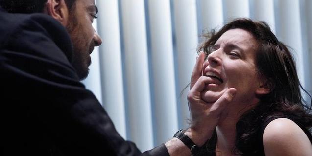 David Selvas i Laia Marull en una imatge de l'obra 'Hedda Gabler' que van representar l'any 2012