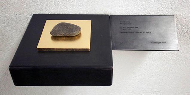 Una de las piezas que se puede ver en la exposición