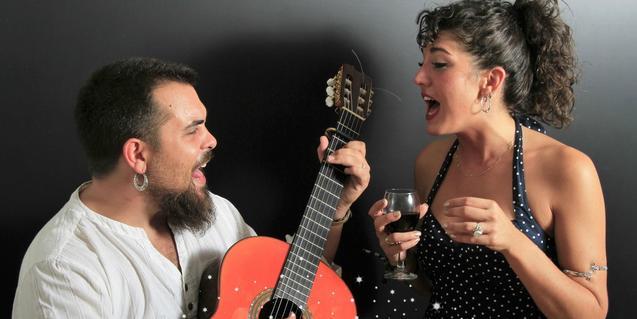 Daniel Felices i Queralt Lahoz, integrants d'aquest grup barceloní