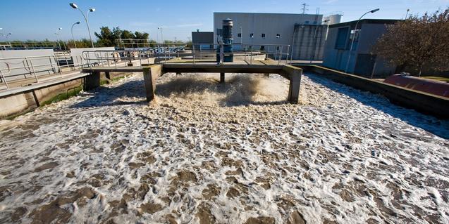 planta depuradora d'aigua