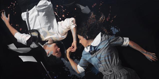 Un moment del musical 'El despertar de la primavera'