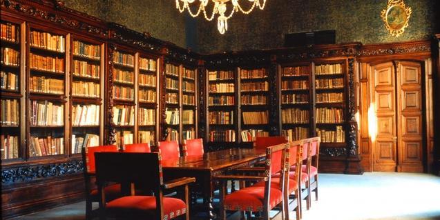 Interior del Archivo Histórico de Barcelona