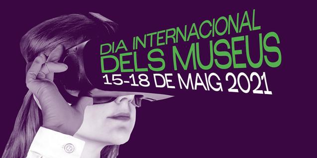 Imatge gràfica del Dia Internacional dels Museus 2021