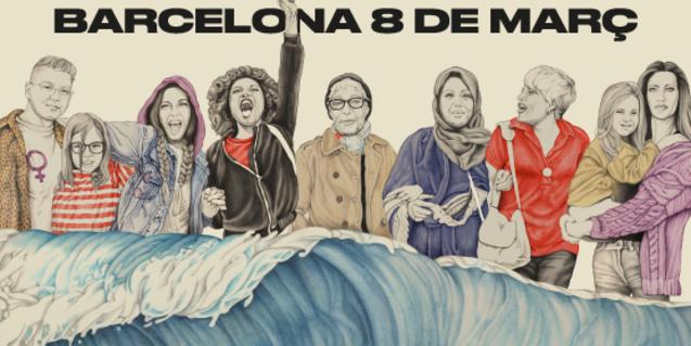 Cartell del Dia Internacional de les Dones