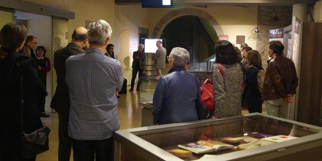 Nova exposició al vestíbul de l'Arxiu Històric de Barcelona