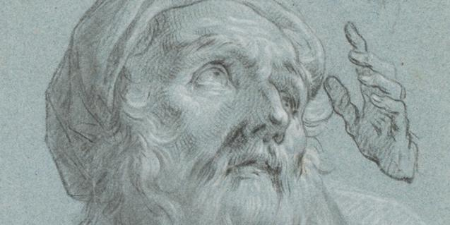 Dibuix de finals del segle XVIII obra de Zacarías González Velázquez que es troba en la galeria Artur Ramon Art