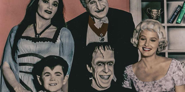 Fotografia de la família Adams