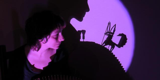 Fotografía del espectáculo de sombras