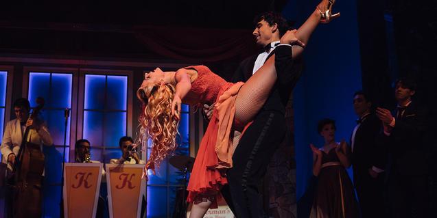 Una escena de 'Dirty Dancing'
