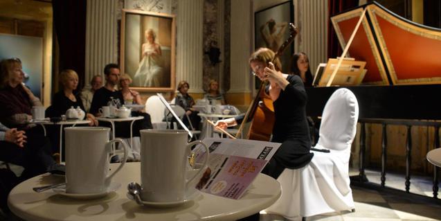 Concierto de música clásica en el MEAM