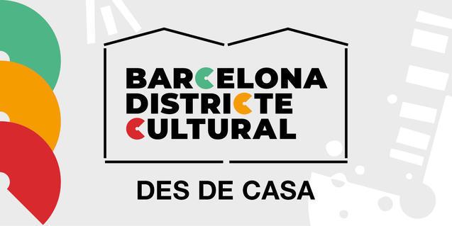 Logotip de Barcelona Districte Cultural des de Casa