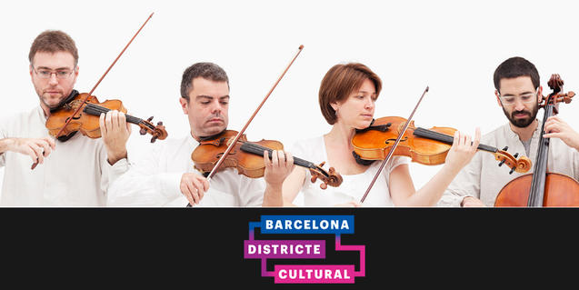 Quartet Brossa Barcelona Districte Cultural