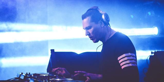 Una imatge del productor holandès DJ Tiësto
