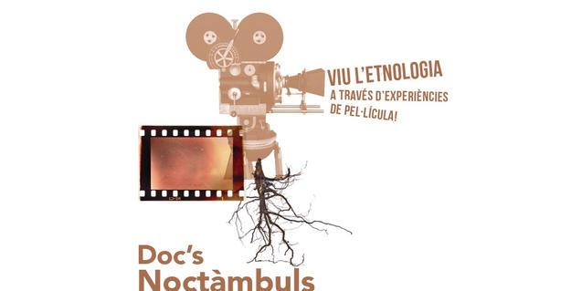 """Cartel del ciclo """"Docs Noctàmbuls"""""""