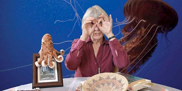 Donna Haraway, en una imatge promocional