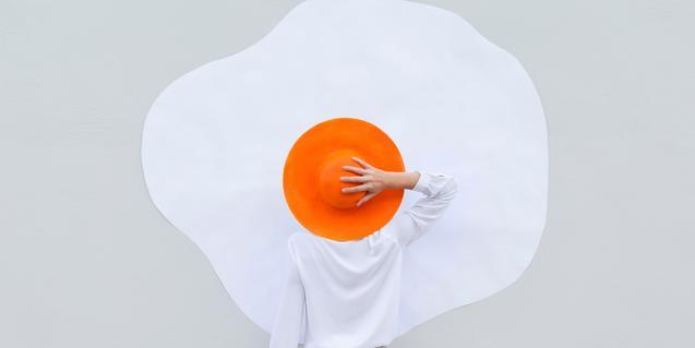 Detall de la creació fotogràfica 'Eggcellent', d'Anna Devís i Daniel Rueda, una de les obres que comparteix aquests dies CaixaForum