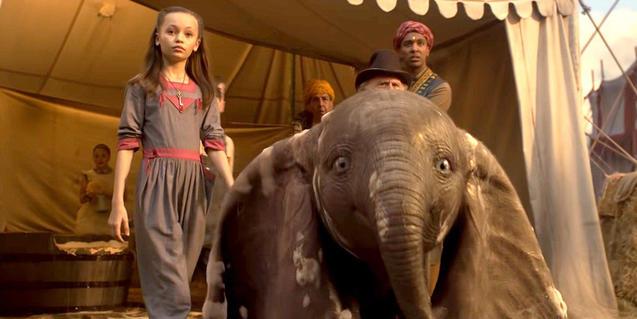 La nueva versión de Dumbo se podrá ver en los Cinemes Girona.