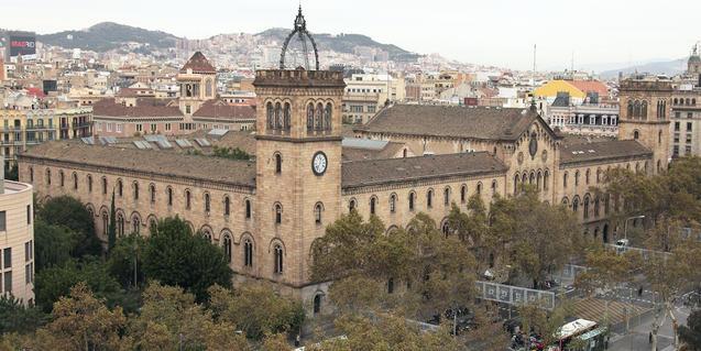 Imatge de l'Edifici Històric de la UB