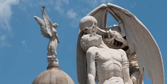 'El beso de la muerte'