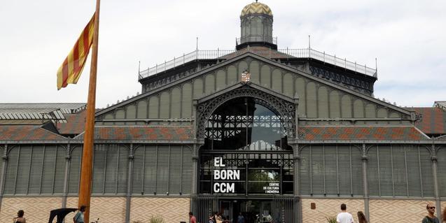 Fotografía del mercado del Born