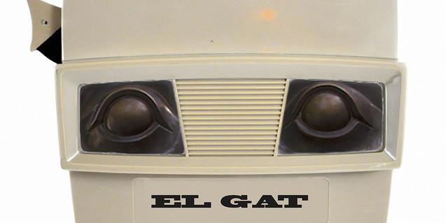 Chloé Despax i Aylen Torres són els autors de la instal·lació 'El Gat'