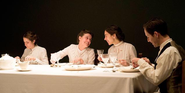Una escena de la obra 'El llarg dinar de Nadal'