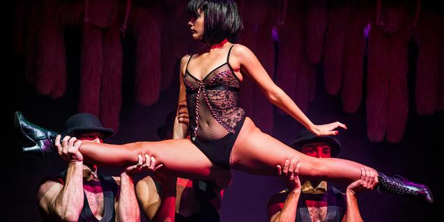 Bailarines de cabaret