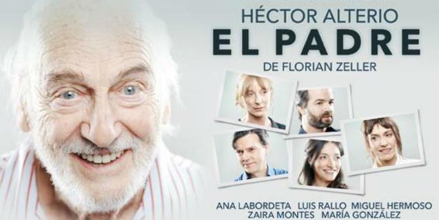 Héctor Alterio, a l'esquerra, és el protagonista d'aquesta 'farsa tràgica'