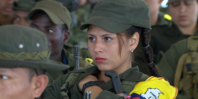 Fotograma de la película colombiana 'El silencio de los fusiles'