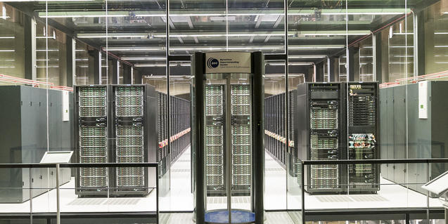Ordenadores del Barcelona Supercomputing Center