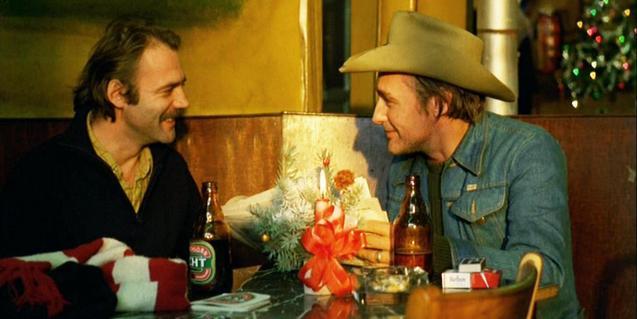 Bruno Ganz i Dennis Hopper a 'El amigo Americano'