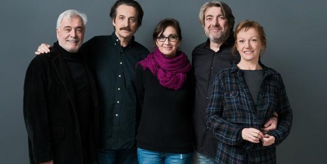 Intèrprets i directora de l'obra 'El preu'