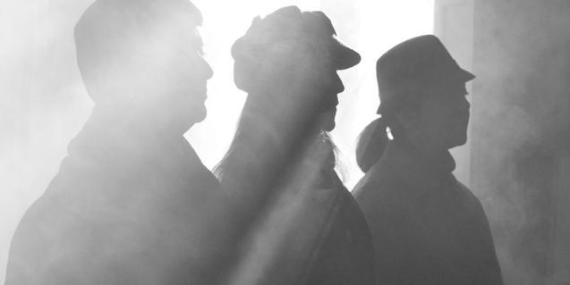 Una de les imatges promocionals de l'obra 'Enverinades'