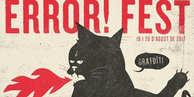 Un gato negro escupiendo fuego es el símbolo del festival