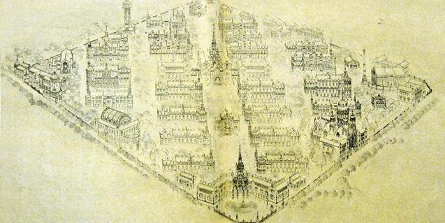 En la conferència es mostraran detalls del projecte original de l'Hospital de la Santa Creu i de Sant Pau