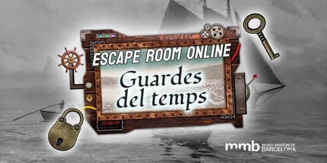 Cartell de l''escape room' virtual que estrena el MMB